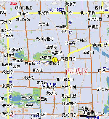 Exhibition Centre Hotel Beijing Map