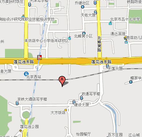 Beijing Ruierwei Hotel(the west railway station) Map