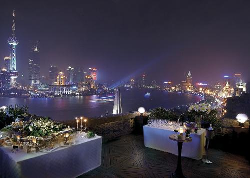 Broadway Mansions Hotel, Shanghai Bund View