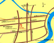 City Hotel Shanghai Map