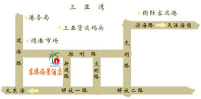 Donggang Seaview Hotel Map