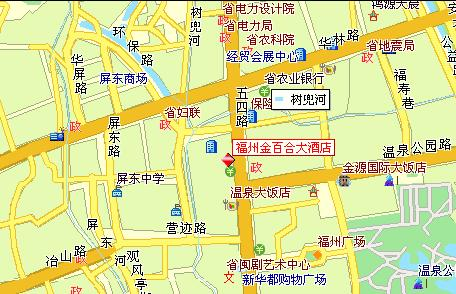 Fuzhou Success Link International Hotel Map