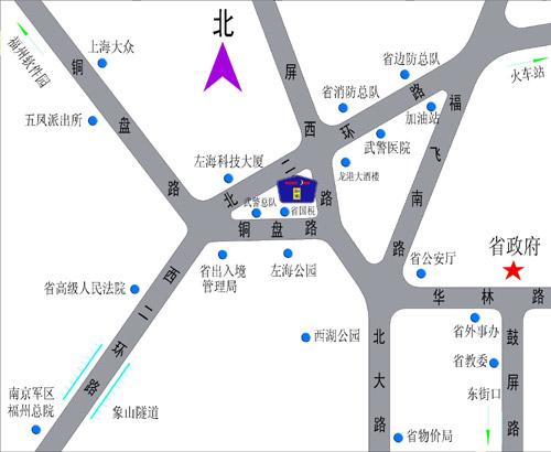 导游图 秦皇岛野生动物园地图