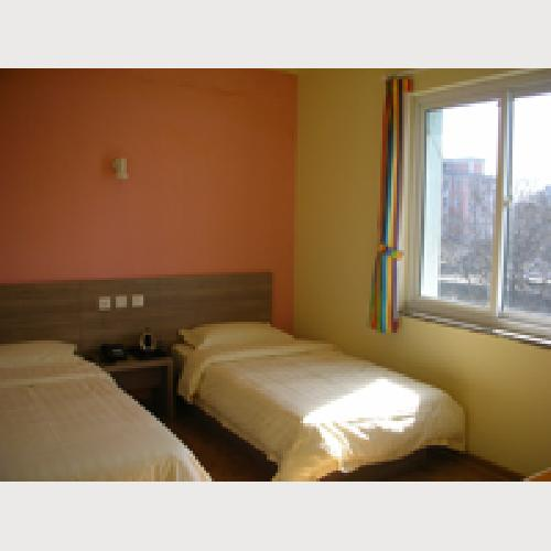 No. 161 Hostel Beijing Standard twin Room with bathroom, TV, air-conditioning