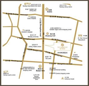 The Cumberland Boutique Hotel Map