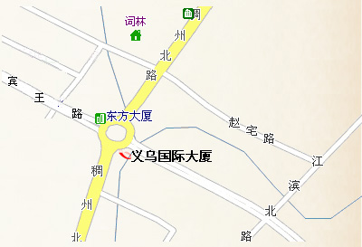 Yiwu International Mansion Map