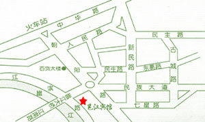 Yongjiang Hotel Map